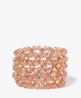 Forever 21 Diamond Pattern Bracelet