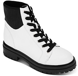 Kenneth Cole Women's Rhode Lace-Up Boots