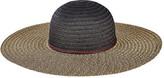 San Diego Hat Company Women's Paperbraid Solid Crown Sun Brim Hat PBL3062