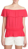1 STATE Ruffled Strapless Top
