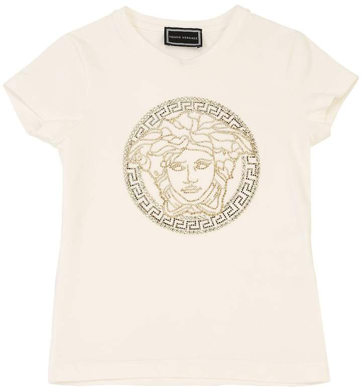 573781fa Versace White Girls' Tees - ShopStyle