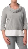 Neon Buddha Sporty Surf Tunic Shirt- 3/4 Sleeve (For Women)