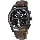 Bell & Ross Men's BR126-ORIGINAL CARBON Vintage Dial and Strap Dial Watch