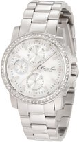Kenneth Cole New York Kenneth Cole Women's Newness KC4832 Silver Stainless-Steel Quartz Watch with Dial