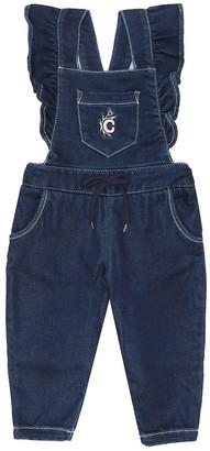 Chloé Kids Baby denim overalls