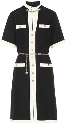 Gucci Wool and silk minidress