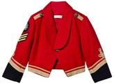 Stella McCartney Red Military Lee Jacket
