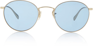 Oliver Peoples Coleridge Metal Round-Frame Sunglasses