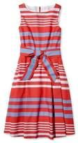 L.L. Bean Signature Poplin Dress, Stripe