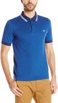 Fred Perry Men's Textured Pique Polka Dot Shirt