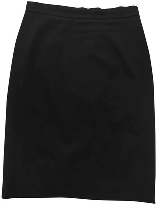 Moschino Cheap & Chic Moschino Cheap And Chic Black Wool Skirt for Women