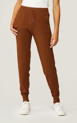 Soia & Kyo VERONA sustainable cuffed sweatpants with drawstrings