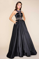 Mac Duggal 77121H Ball Gowns Style