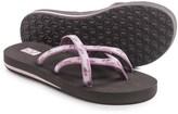 Teva Olowahu Thong Sandals - Mush® Footbed (For Women)