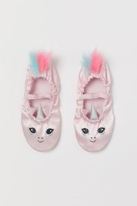 H&M Satin ballet shoes