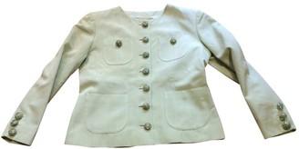 Saint Laurent Green Viscose Jackets