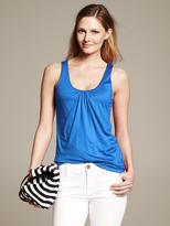 Banana Republic Shirred Tank