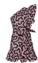 Isabel Marant Lavern One Shoulder Dress