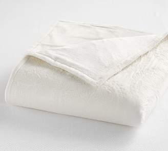 Pottery Barn Medallion Cotton Heated Blanket