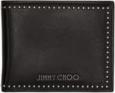 Jimmy Choo Black Studded Mark Wallet