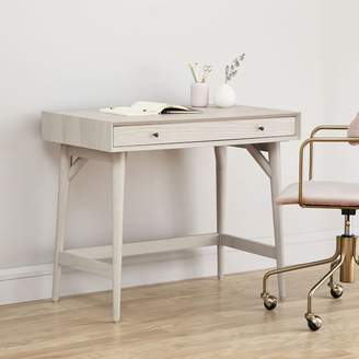 west elm Mid-Century Mini Desk - Pebble