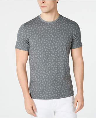 Alfani Men Brushstroke Dot Graphic T-Shirt