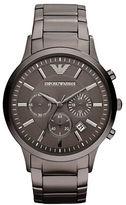 Emporio Armani Mens Gunmetal Chronograph Watch