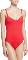 Seafolly V-Neck One-Piece Swimsuit