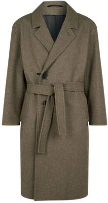 Lemaire Wool Toggle Coat