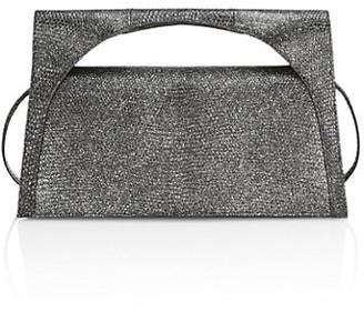 Nancy Gonzalez Small Sammy Crocodile Keyhole Crossbody Bag