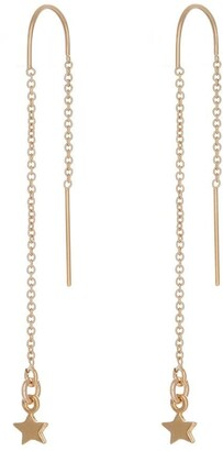 Harry Rocks Star Threader Earring Gold