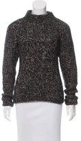 Belstaff Wool Mock Neck Sweater