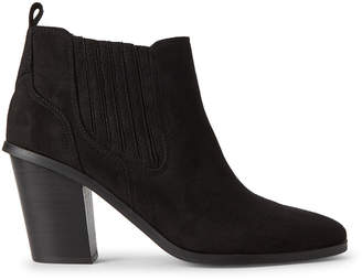 Nine West Black Mayley Ankle Booties