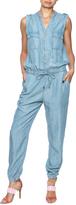 Dex Sleeveless Tencel Jumpsuit