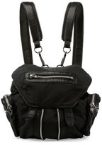 Alexander Wang Mini Marti Nylon Backpack, Black/Nickel