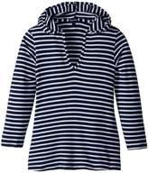 Splendid Littles Stripe Hoodie Tunic Girl's Sweatshirt