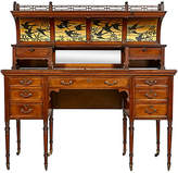 One Kings Lane Vintage English 19th-C. Walnut Desk