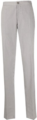 Incotex Pinstripe Chino Trousers