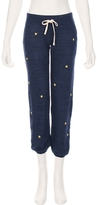 Sundry Sweater Knit Star Patches Sweatpant