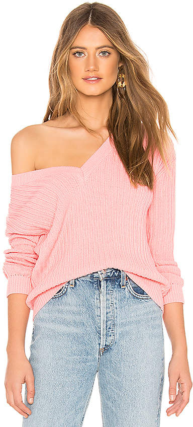 Tularosa Rib V Neck Sweater