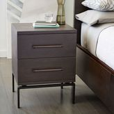 west elm Nash 2-Drawer Nightstand – Mineral