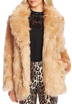 Vince Camuto Shaggy Faux-Fur Coat