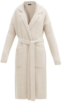 Joseph Cote Anglaise Belted Cardigan - Light Beige