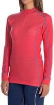 Helly Hansen Warm Freeze Base Layer Top - Merino Wool, Zip Neck, Long Sleeve (For Women)