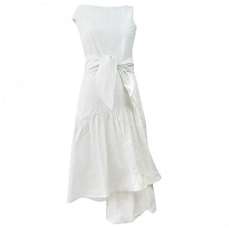 Isa Arfen White Cotton Dresses