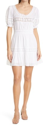 LoveShackFancy Britta Lace Minidress