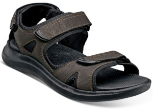 Nunn Bush Men's Rio Vista Three Strap River Sandals Men's Shoes