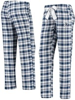 Unbranded Women's Concepts Sport Navy/White Vancouver Canucks Piedmont Flannel Pants
