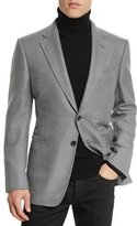 Tom Ford O'Connor Base Twill Sport Jacket, Gray