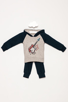 Wes And Willy Guitar Fleece Set
